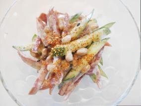 納豆カルパスサラダ